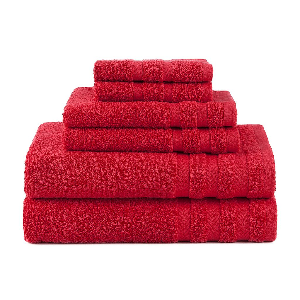 Martex 6-piece Egyptian Cotton Towel Set