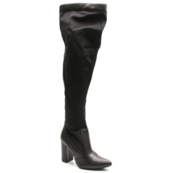 2 Lips Too Too Amber Women's Over-The-Knee Boots