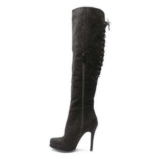 2 Lips Too Too Vanity Women's Over-The-Knee Boots
