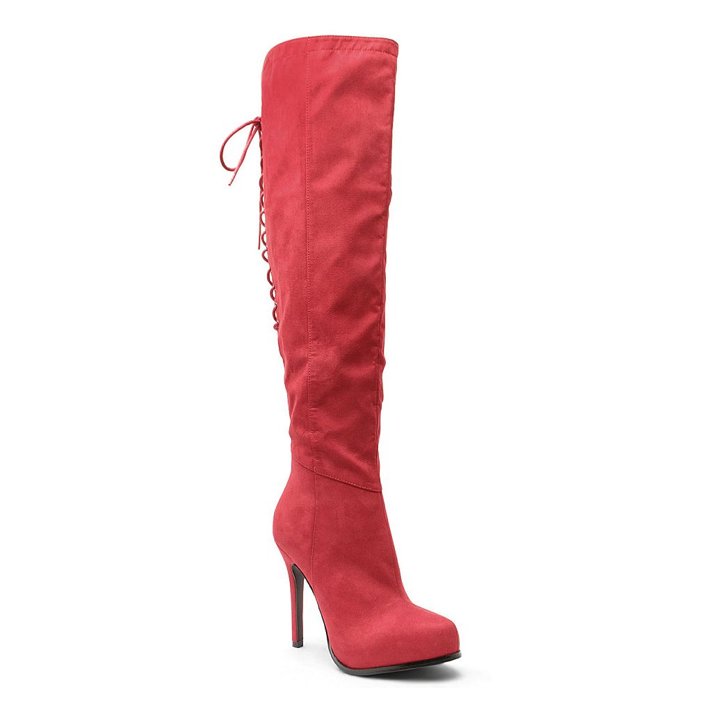2 Lips Too Too Vanity Women's Over-The-Knee Boots