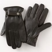Dockers Snap Leather Gloves