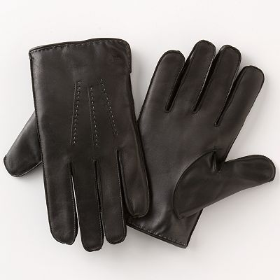 Dockers Tonal Stitch Leather Gloves