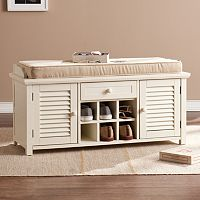 Abraham Shoe Storage Bench