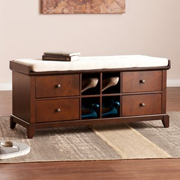 Hannah Shoe Storage Bench