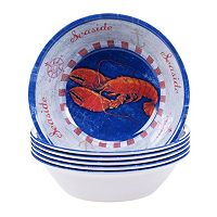 Certified International Maritime 6 pc All-Purpose Bowl Set