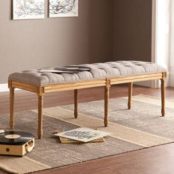 Marisol Upholstered Tufted Bench