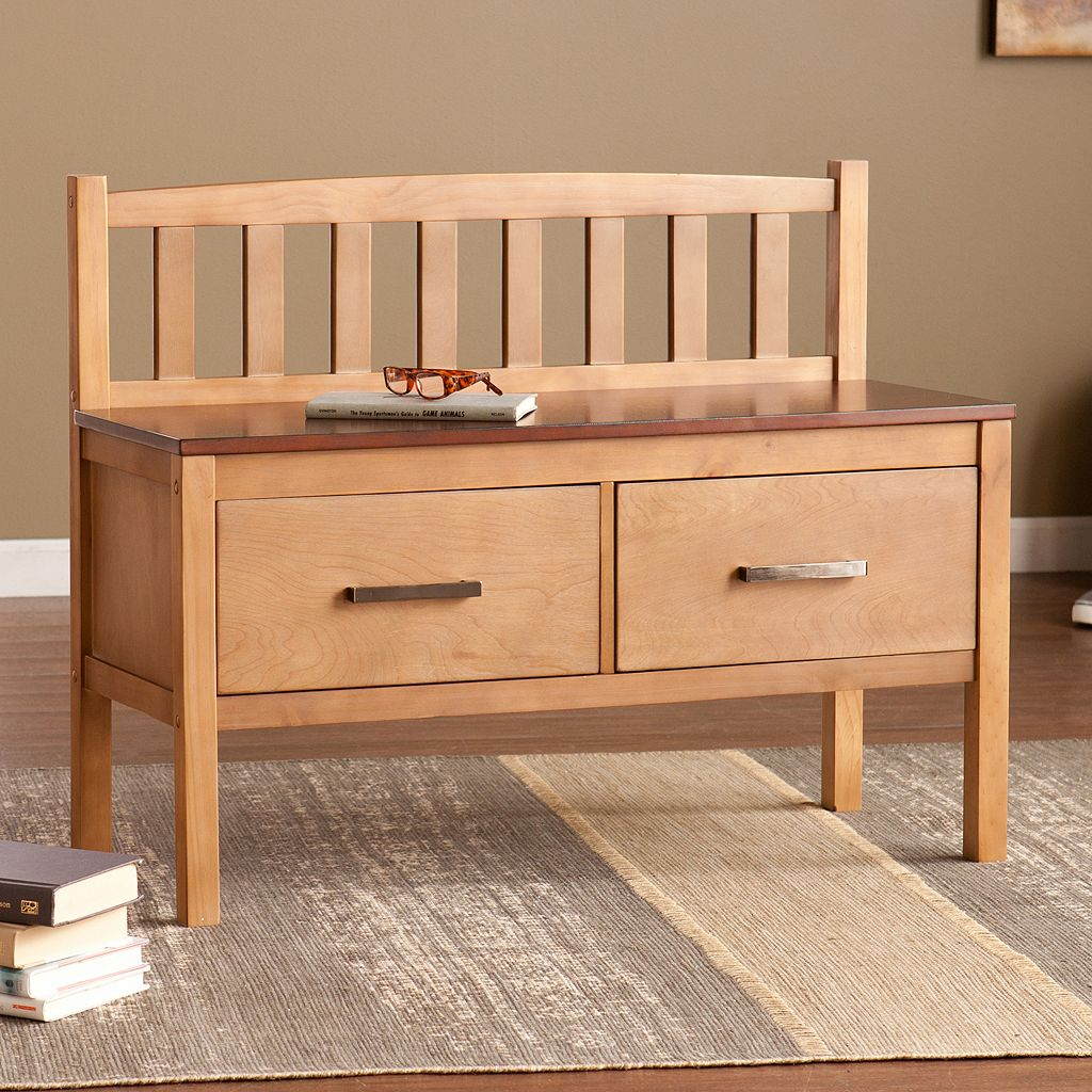 Balthazar 2-Drawer Storage Bench