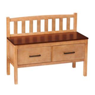 Balthazar 2-Drawer Storage Bench