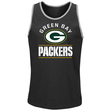 Men's Majestic Green Bay Packers Go Far Tank Top
