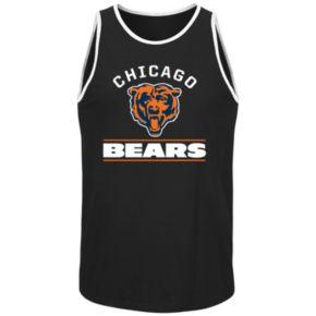 Men's Majestic Chicago Bears Go Far Tank Top