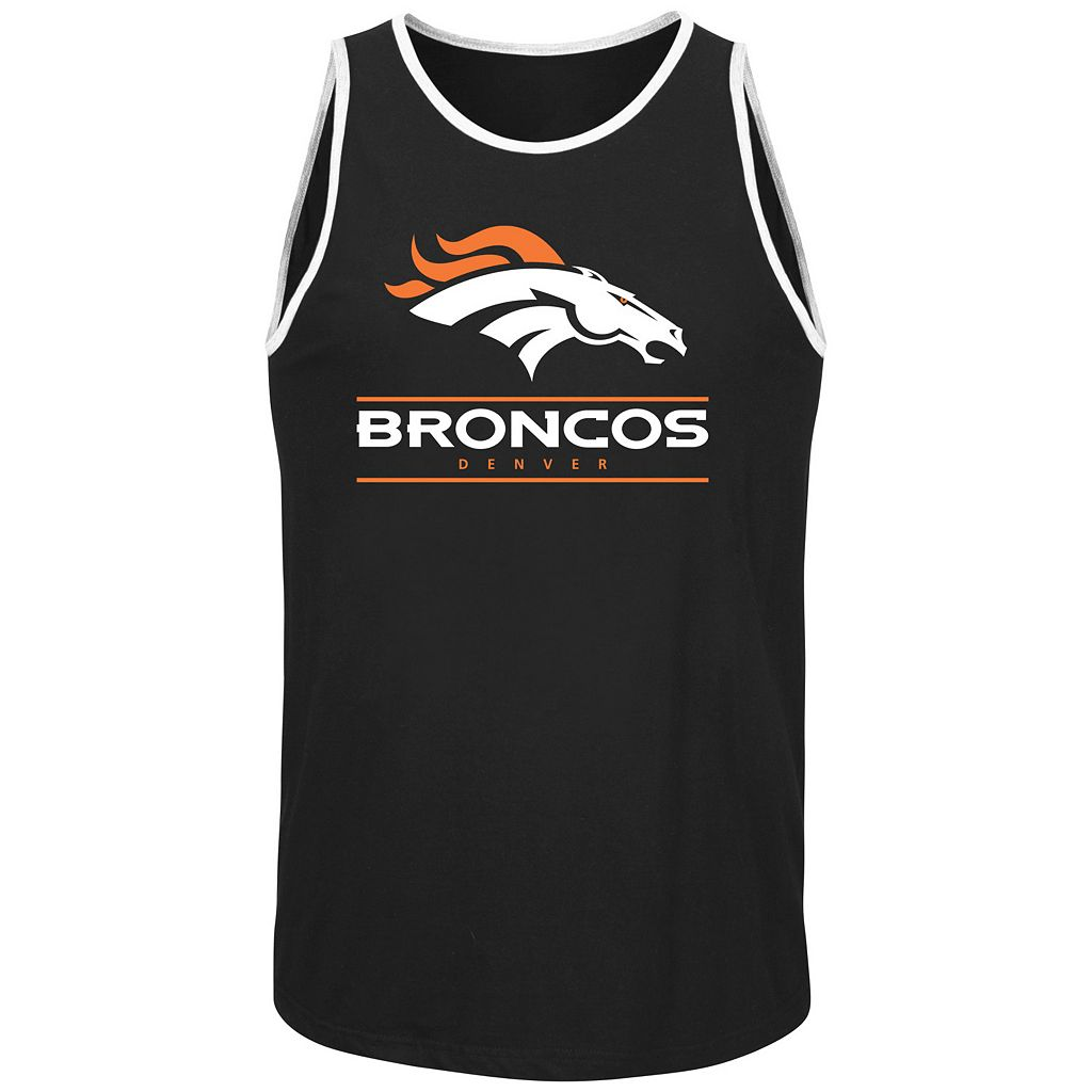 Men's Majestic Denver Broncos Go Far Tank Top