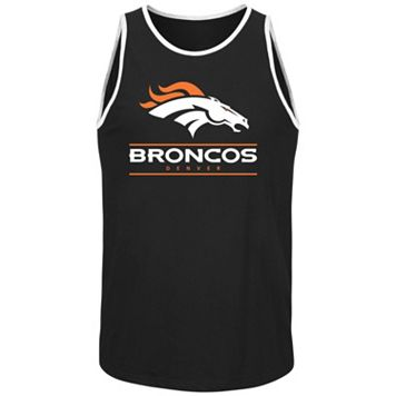 Men's Majestic Denver Broncos Go Far Tank Top