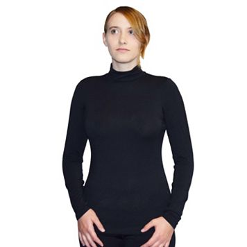 Women's Snow Angel Angel Cashmere Turtleneck Top