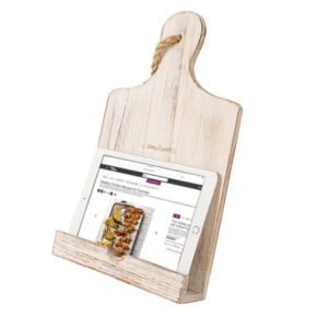 Cathy's Concepts Mother's Day Wooden iPad & Recipe Stand
