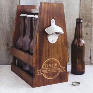 Cathy's Concepts Dad's Brew House Craft Beer Carrier