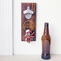 Cathy's Concepts Dad's Rustic Wall-Mount Bottle Opener