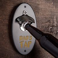 Cathy's Concepts Dad's Tap Wall-Mount Bottle Opener