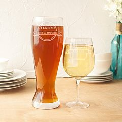 Cathy's Concepts 2 pc Mom & Dad's XL Wine & Beer Glass Set