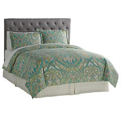 Grand Collection De La Cruz 300 Thread Count Duvet Cover Set
