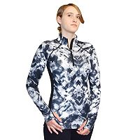 Women's Snow Angel Natural Wonder Slimline Quarter Zip Top