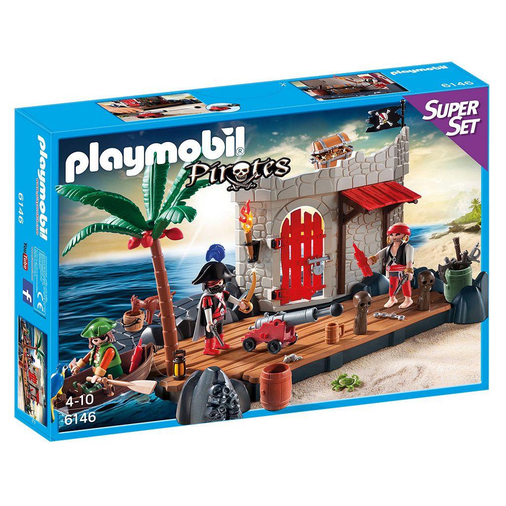 Playmobil Pirates Pirate Fort Super Set - 6146
