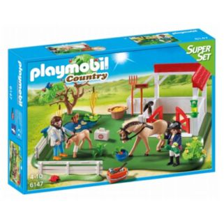 Playmobil Country Horse Paddock Super Set - 6147