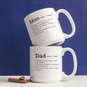 Cathy's Concepts 2-pc. Parent Definition Coffee Mug Set