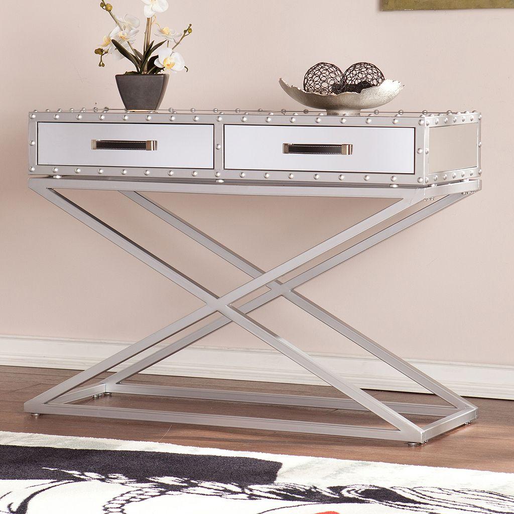 Stockard Mirrored Sofa Table