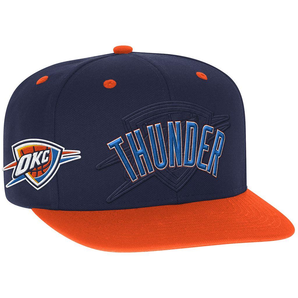 Men's adidas Oklahoma City Thunder Draft Snapback Cap