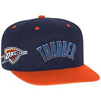 Men's adidas Oklahoma City Thunder Draft Snapback Cap