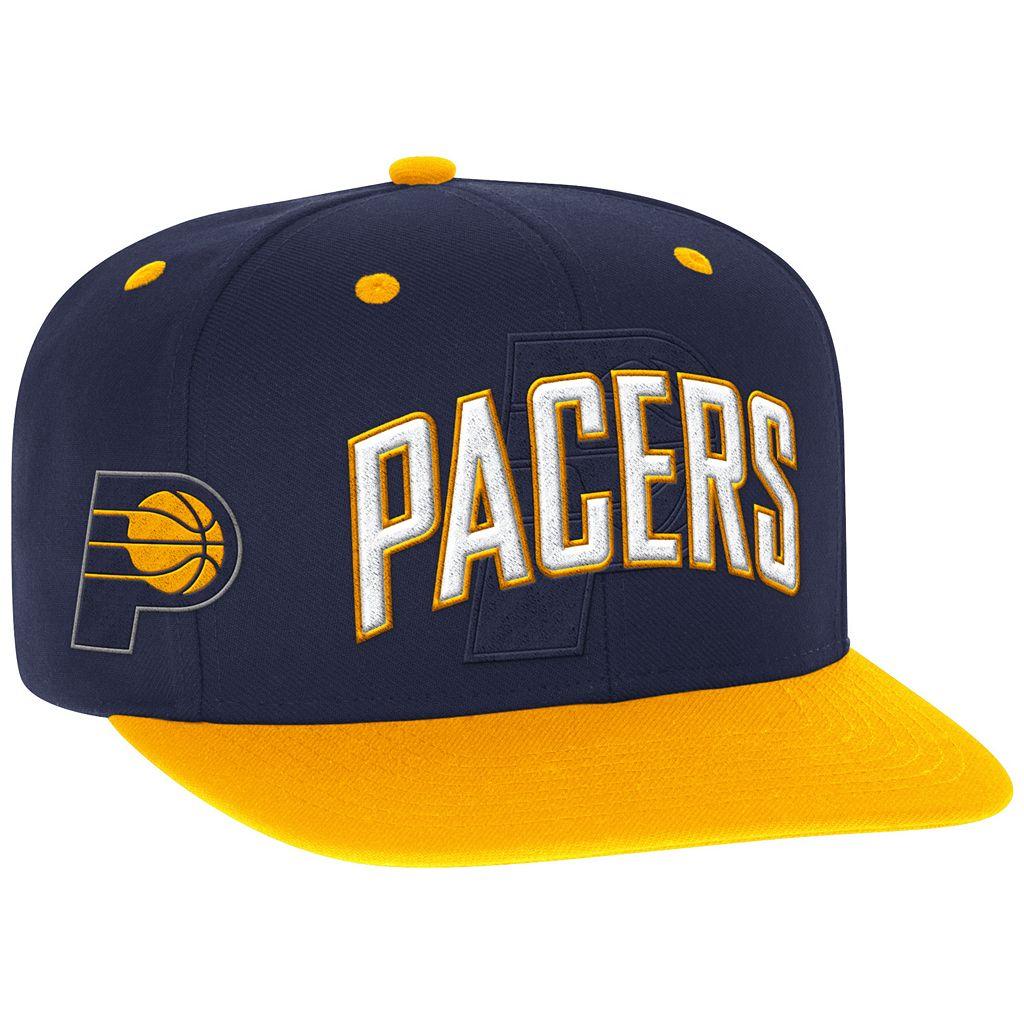 Men's adidas Indiana Pacers Draft Snapback Cap
