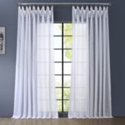 EFF 1-Panel Signature Sheer Double-Wide Window Curtain
