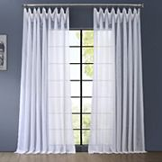 EFF Signature Sheer Double-Wide Window Curtain