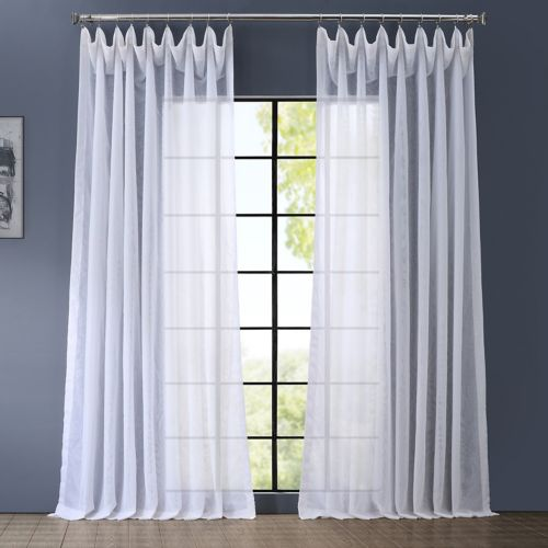 EFF Signature Sheer Double-Wide Curtain