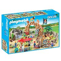 Playmobil Large City Zoo Playset - 6634