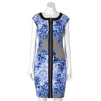 Women's Jax Floral Striped Sheath Dress