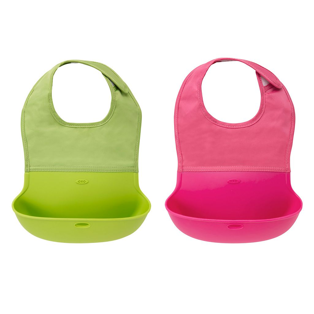 OXO Tot 2-pk. Roll-Up Bibs