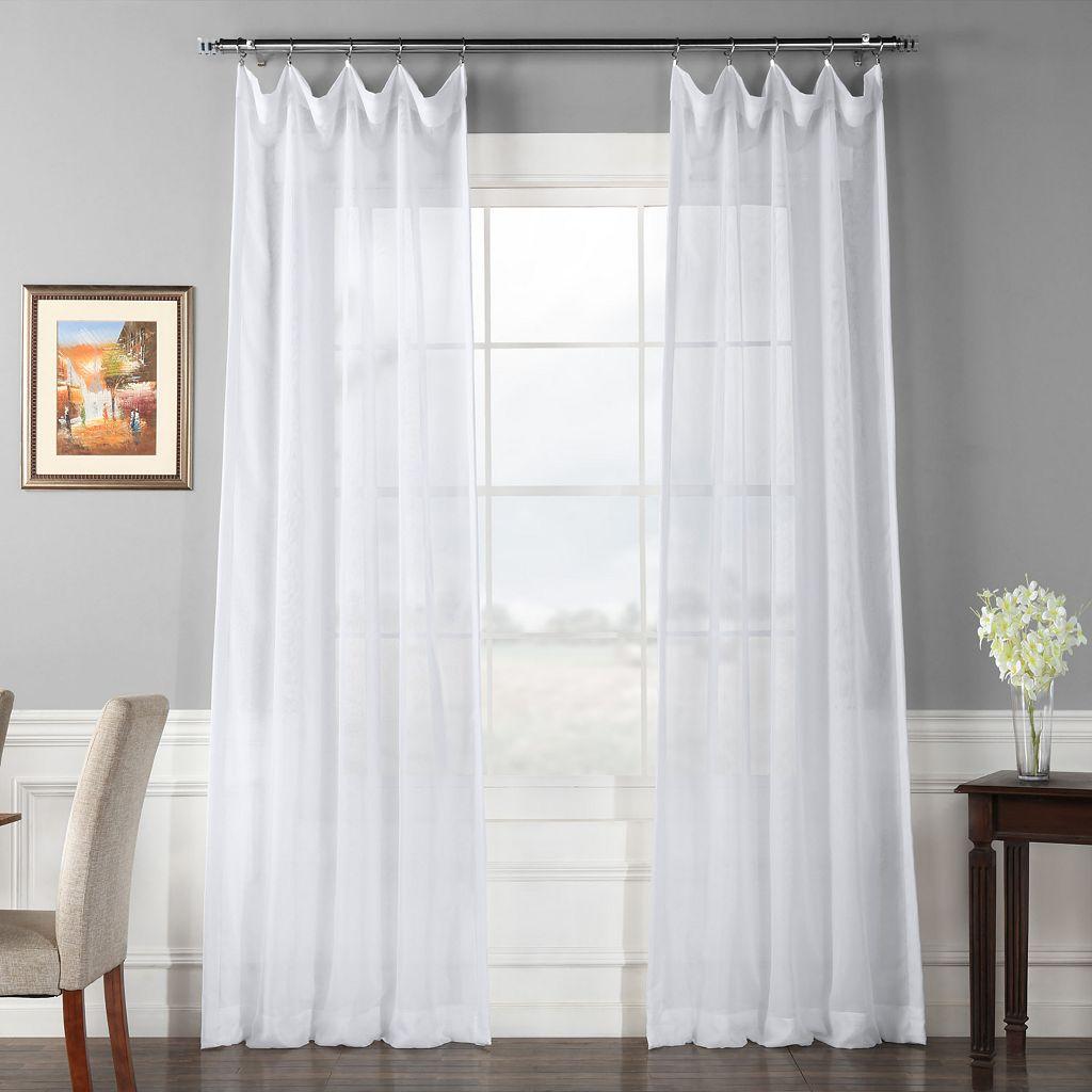 EFF Signature Sheer Window Curtain
