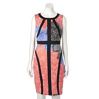 Women's Jax Abstract Floral Sheath Dress