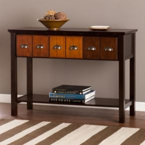 Hayden Apothecary Storage Console Table