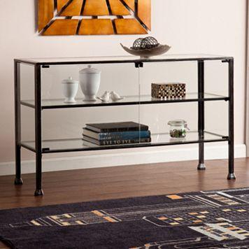 Terrarium Display Curio Console Table