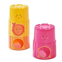 giggle 3-pk. Stack & Pour Bath Cups
