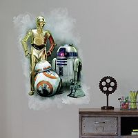 RoomMates Star Wars: Episode VII The Force Awakens Peel & Stick Wall Decal