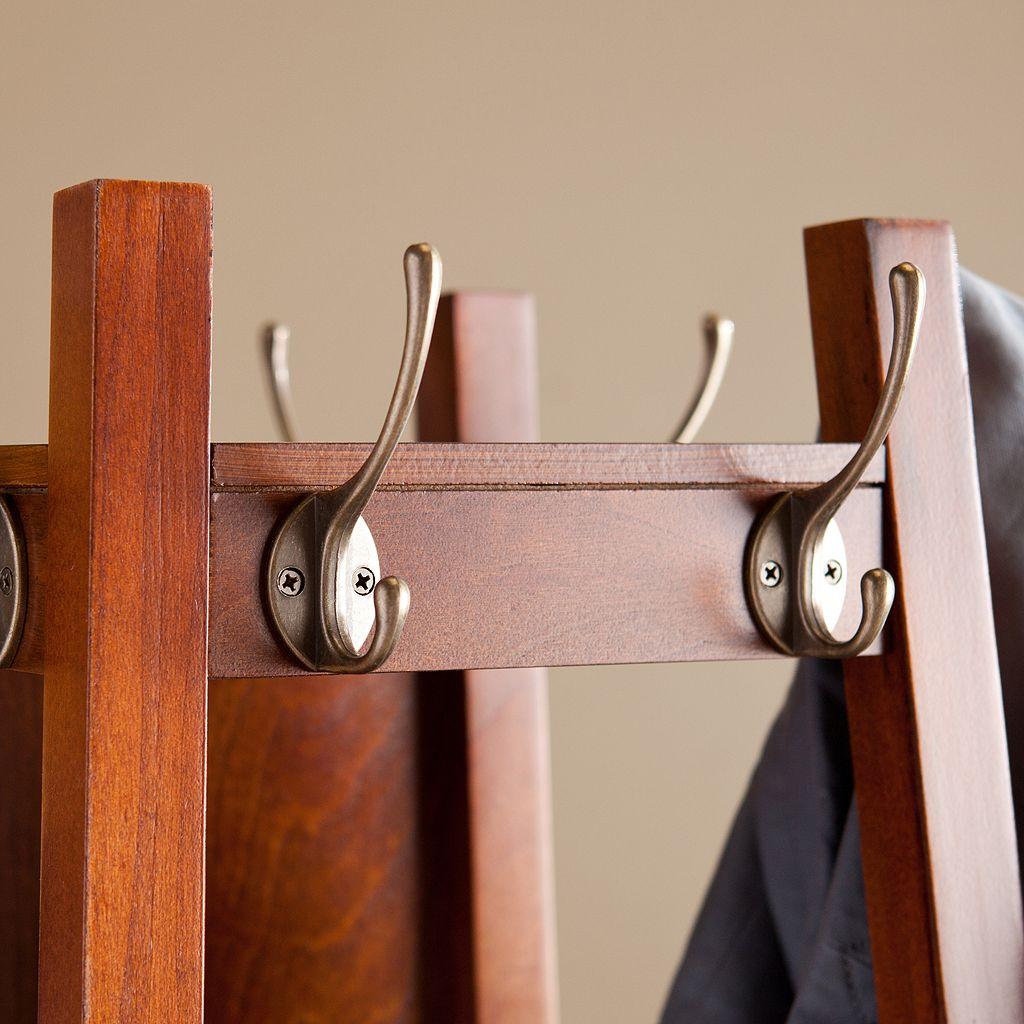 Alexis Swivel Mirror Coat Rack