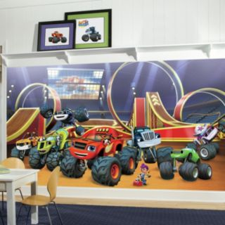 RoomMates Blaze & the Monster Machines Wall Mural