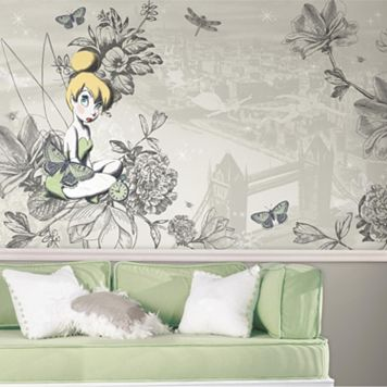 Disney Tinker Bell Vintage Wall Mural by RoomMates