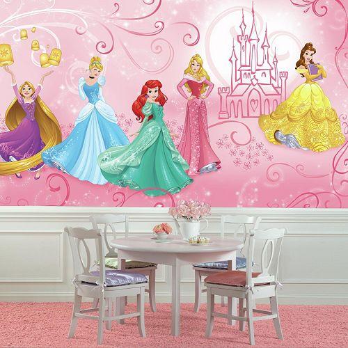 Disney Princess Enchanted Wall Mural by RoomMates