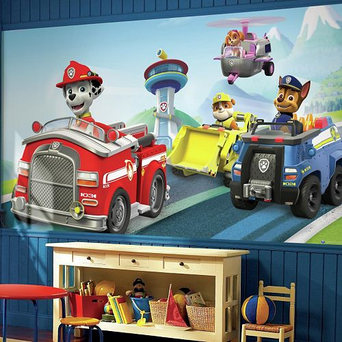 RoomMates Paw Patrol Chair Wall Mural