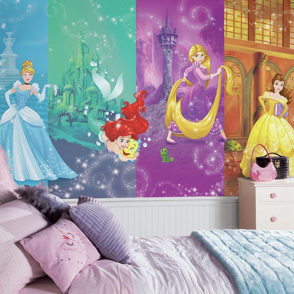 Disney Princess Scenes Wall Mural by RoomMates