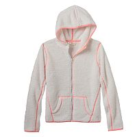 Girls 7-16 & Plus Size SO® Sherpa Zip-Up Hoodie